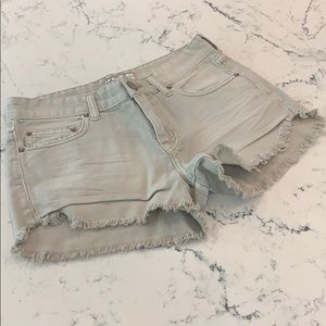 Free people cotton shorts - size 25